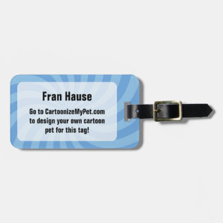 Create Your Own Pet Luggage Tag