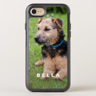 Create Your Own Pet Photo with Name OtterBox Symmetry iPhone 8/7 Case
