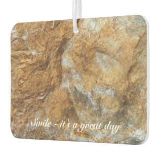 Create your own photo air freshener - rock