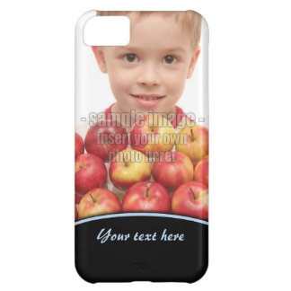 Create Your Own Photo Blue Edge iPhone5 iPhone 5C Case
