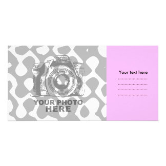 Create Your Own Photo Card Pink