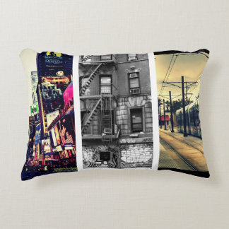 Create-Your-Own Photo Collage Accent Pillow Accent Cushion