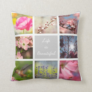 Create Your Own Photo Collage Cushions