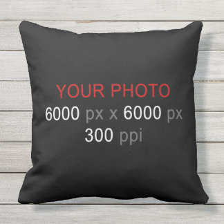 Create Your Own Photo Custom Outdoor Cushion