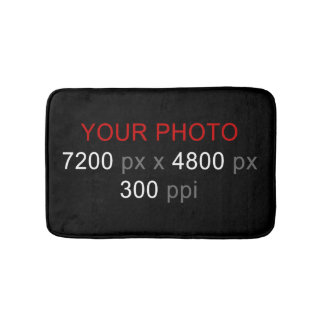 Create Your Own Photo Custom Small Bath Mat Bath Mats