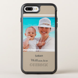 Create Your Own Photo for Mom or Dad OtterBox Symmetry iPhone 8 Plus/7 Plus Case
