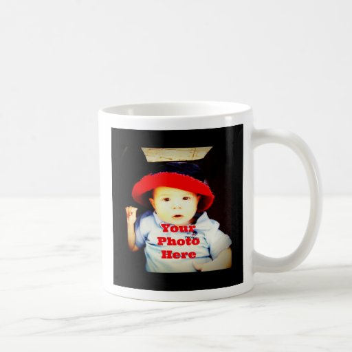 Create Your Own Photo Gifts Template Coffee Mugs