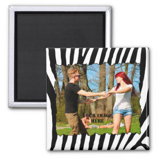 Create your own photo square magnet