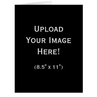 Create-Your-Own Photo Upload Greeting Card (Large)