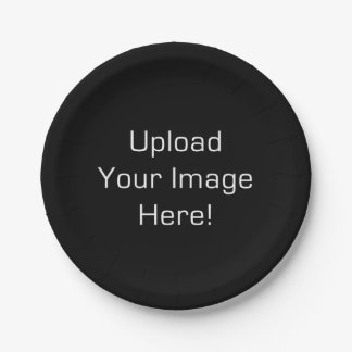 Create-Your-Own Photo Upload Paper Plate