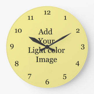 Create your own picture clock. Add your own  photo Wall Clock