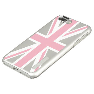 Create Your Own Pink Union Jack Incipio DualPro Shine iPhone 8 Plus/7 Plus Case