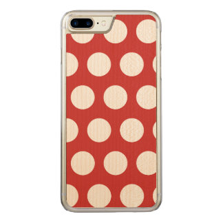 Create Your Own Polka Dot Carved iPhone 8 Plus/7 Plus Case