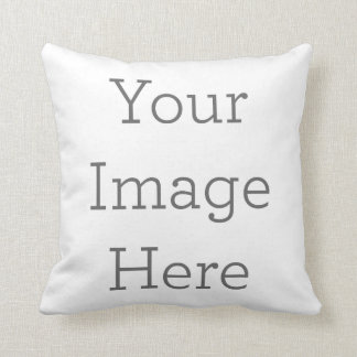 Create Your Own Polyester Throw Pillow 16x16 Cushions