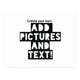 Create your own postcard