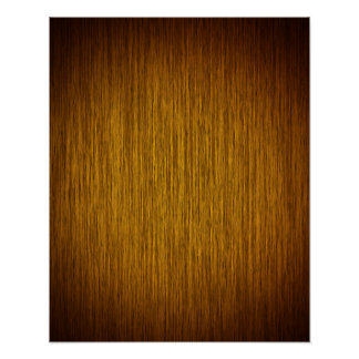 Create Your Own Poster on Sunburst Wood Background