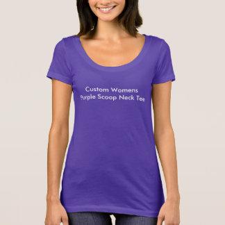 Create Your Own Pretty Purple T-Shirt