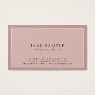 Create Your Own Professional Modern Classy Design Business Card