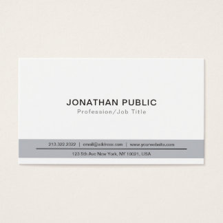 Create Your Own Professional Modern Elegant Smart Business Card