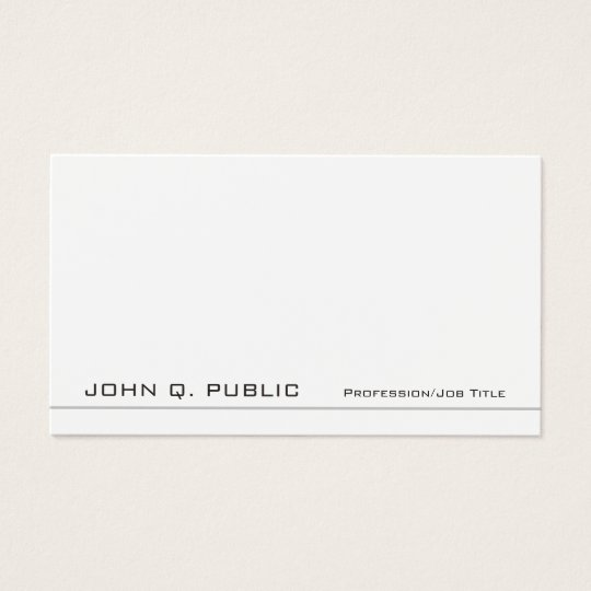 Create Your Own Professional Modern Graceful Business Card