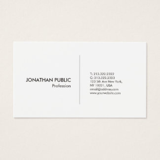 Create Your Own Professional Modern Simple Elegant Business Card