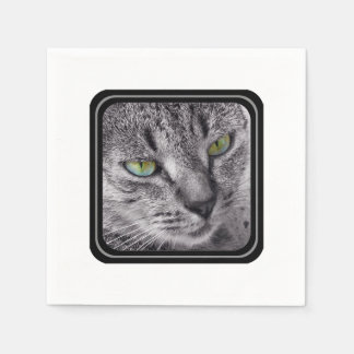 Create your own purrrfect paper napkins