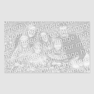 Create Your Own Rectangle Photo Sticker