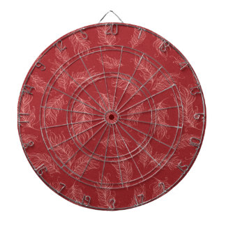 Create Your Own Red Feathers Dartboard