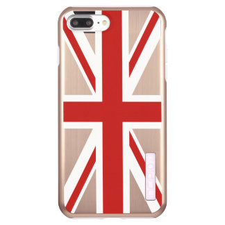 Create Your Own Red Union Jack Incipio DualPro Shine iPhone 8 Plus/7 Plus Case