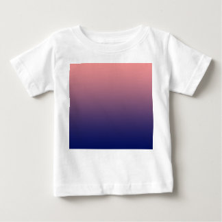 Create your own | salmon pink to blue gradient baby T-Shirt