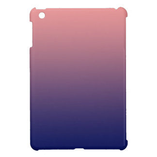 Create your own | salmon pink to blue gradient case for the iPad mini