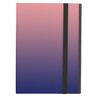 Create your own | salmon pink to blue gradient cover for iPad air