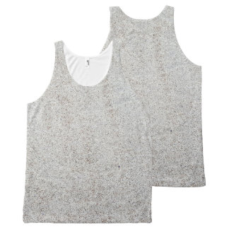 Create your own | Sand texture photo All-Over Print Singlet
