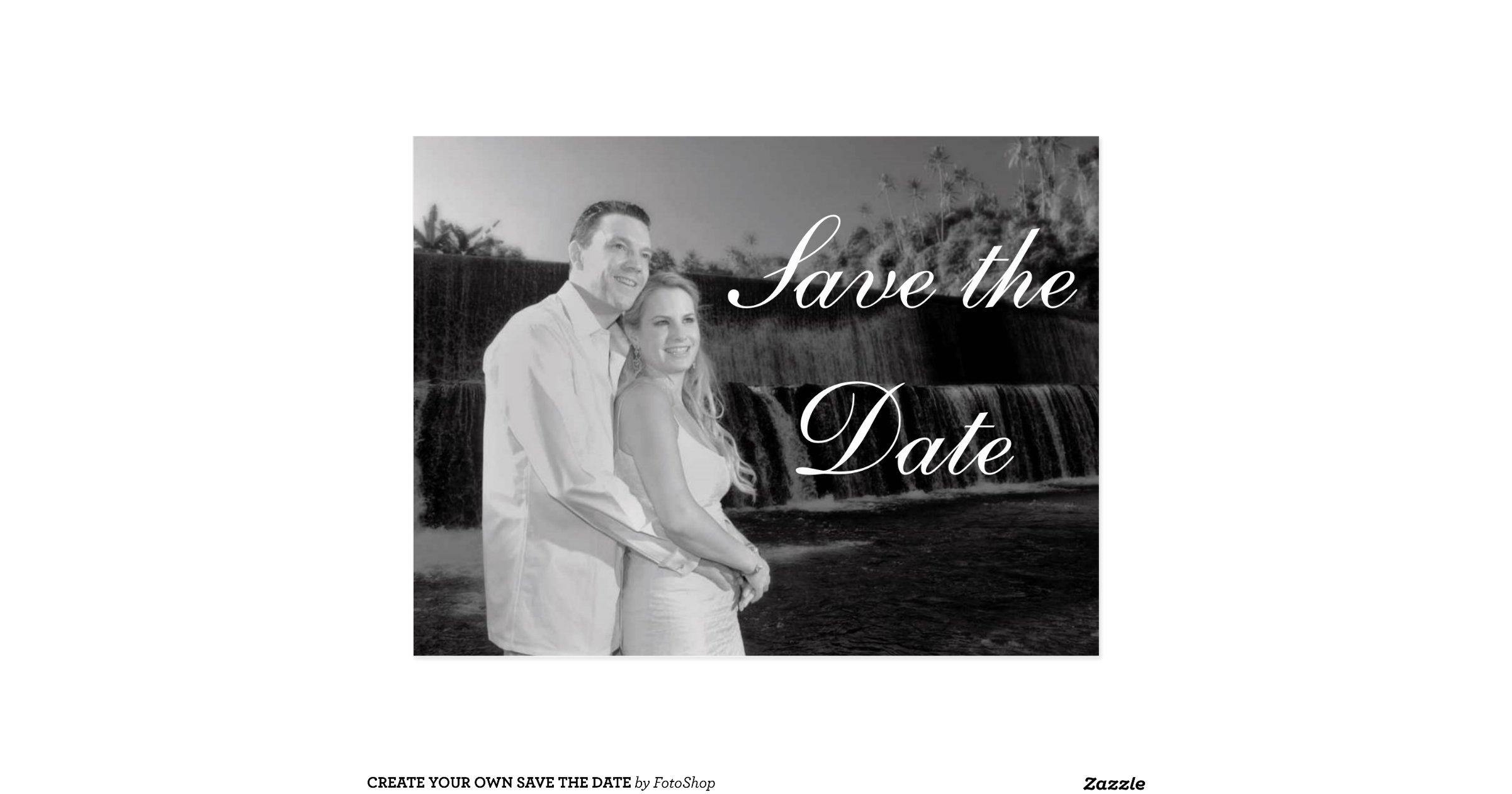Design a save the date online in Australia