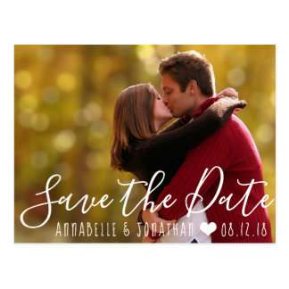 Create Your Own Save the Date Photo Postcard