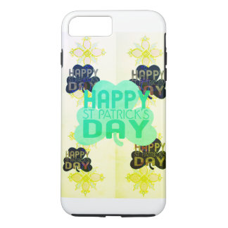 Create Your Own Simple Happy Saint Patrick's Day iPhone 8 Plus/7 Plus Case