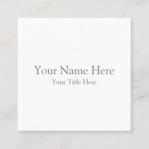 Business cards zazzle au create your own square business card reheart Choice Image
