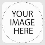Create Your Own Square Sticker Stickers