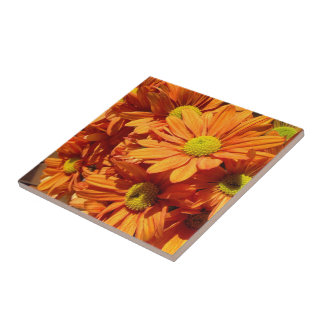 Create your own square tile - floral