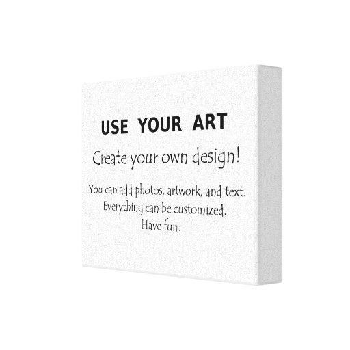 Design Your Own Wall Art Writing : Create your own stretched canvas wall art design