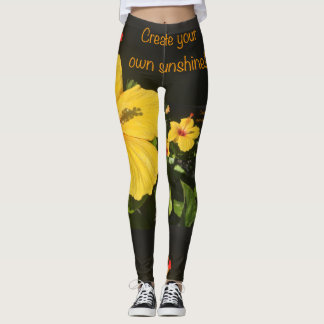 create your own sunshine leggings