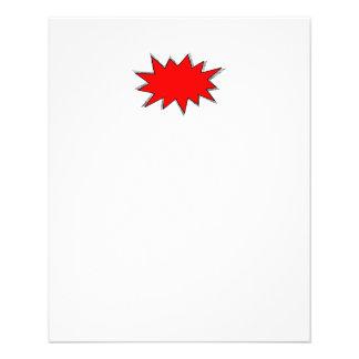 Create Your Own Superhero Onomatopoeias! POW! 11.5 Cm X 14 Cm Flyer