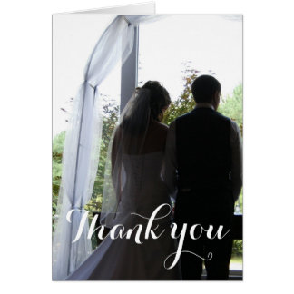 Create Your Own Thank you photo Card