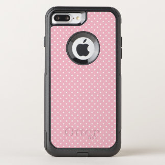 Create Your Own Tiny White Polka Dot OtterBox Commuter iPhone 8 Plus/7 Plus Case