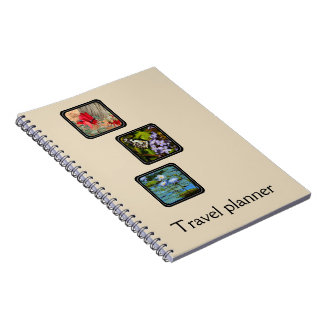 Create your own travel planner notebooks