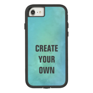 Create Your Own Turquoise Watercolor Painting Case-Mate Tough Extreme iPhone 8/7 Case