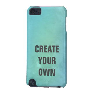 Create Your Own Turquoise Watercolor Painting iPod Touch 5G Case