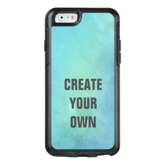 Create Your Own Turquoise Watercolor Painting OtterBox iPhone 6/6s Case