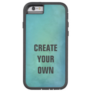 Create Your Own Turquoise Watercolor Painting Tough Xtreme iPhone 6 Case