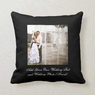 Create Your Own Wedding Photo Keepsake Pillows